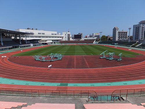 水前寺競技場座席図