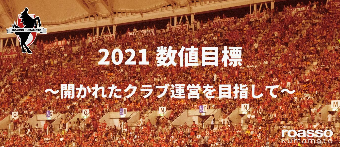 2021数値目標
